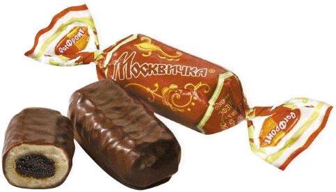 Москвичка в шоколаде карамель РотФронт